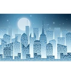 Cityscape with Skyscraper vector