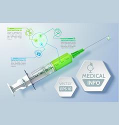 Medical scientific concept vector