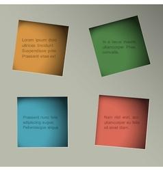 Minimalistic background vector image