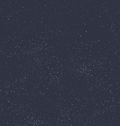 Night sky filled with stars vector image