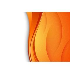 Orange background with cracked texture vector
