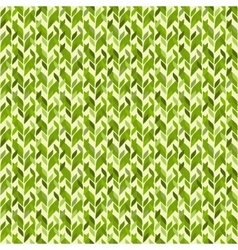 Simple geometric abstract leaves seamless pattern vector