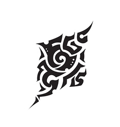 Tattoo one vector