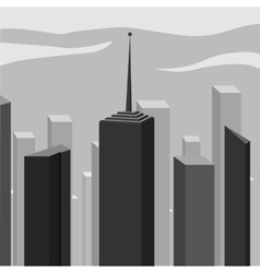 Abstract corporate city skyscraper vector image vector image