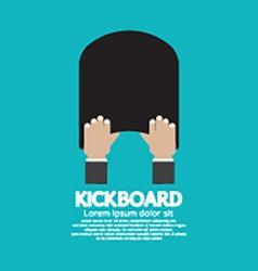 Kick Board Swimming Support Equipment vector image