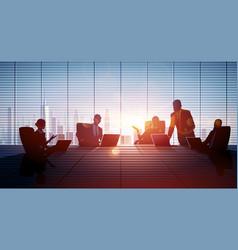 business people teamwork vector image vector image
