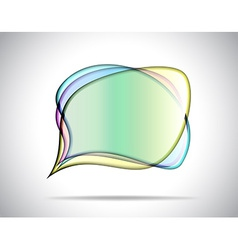 Colorful glass plates vector image vector image