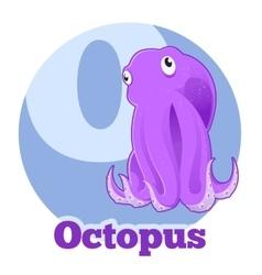 ABC Cartoon Octopus2 vector