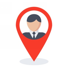 Business location concept vector