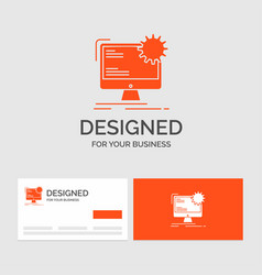 business logo template for internet layout page vector image