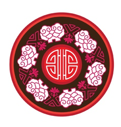 Chinese style patterns vector image