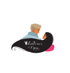 couple style vector image