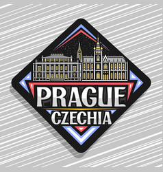 Logo for prague vector