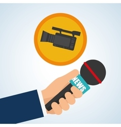 News design Broadcasting concept communication vector