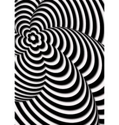 Opt Art vector image