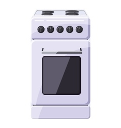 Stove for cooking icon cartoon style vector image