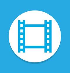 video icon colored symbol premium quality vector image