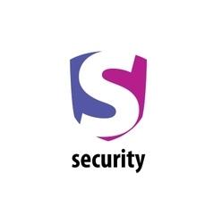 logo security vector image