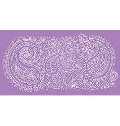 Pattern violet vector image vector image