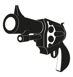 Revolvers isolated on white background vector image