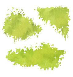 Abstract watercolor splash vector