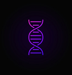 Dna colorful concept icon or logo element vector
