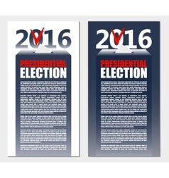 American Election 2016 background Poster or vector