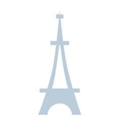 Beauty eiffel tower architecture construction vector