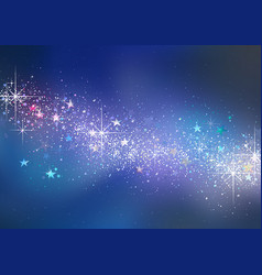 Colorful christmas glittering background vector