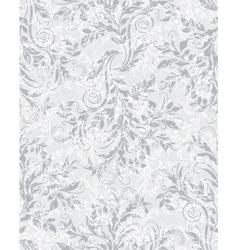 Elegant decorative floral seamless eps10 pattern vector