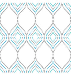 geometric seamless pattern vector image