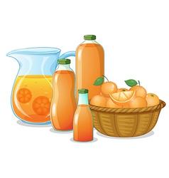Juice drink vector