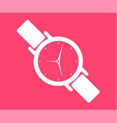 Wrist watch icon vector
