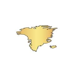 Alaska computer symbol vector