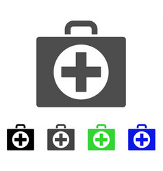 first aid flat icon vector image vector image