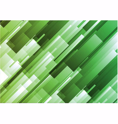 Abstract green geometric square background vector