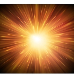 Background with explosion vector image vector image