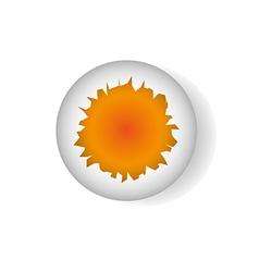 broken egg shell vector image