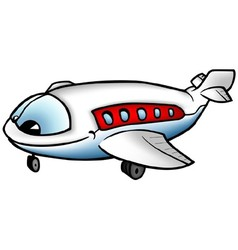 Airliner Character vector image