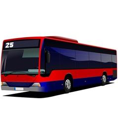 al 0522 city bus vector image