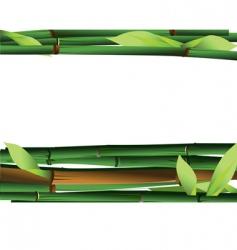 Bamboo shoots vector