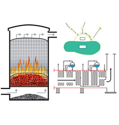 biomass vector image