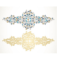 element luxury ornament vector image