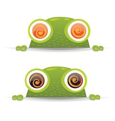 Hypno Frog Set vector image