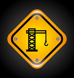 industrial signal vector image
