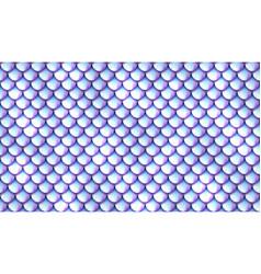 mermaid scales pattern vector image