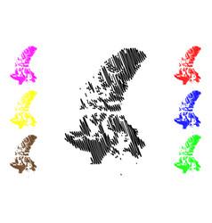 Nunavut canada map vector