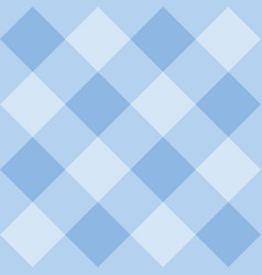 seamless sweet blue background - checkered pattern vector image