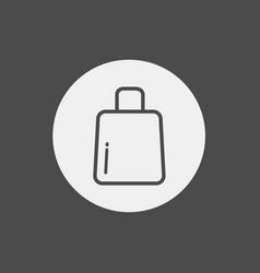 shopping bag icon sign symbol vector image