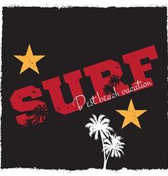 Surf background vector image